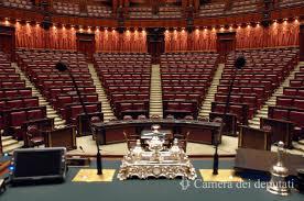 Confabitare in audizione alla commissione lavori pubblici della Camera