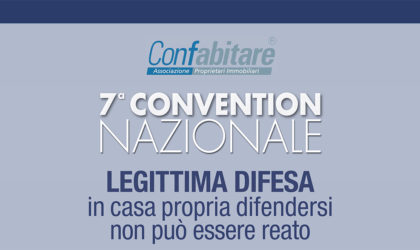 24 Novembre 2017 – 7^ Convention Nazionale Confabitare