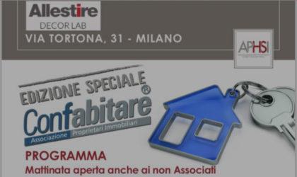 il 22/02, il Presidente Alberto Zanni, con l'Associazione Professionisti Home Staging Italia