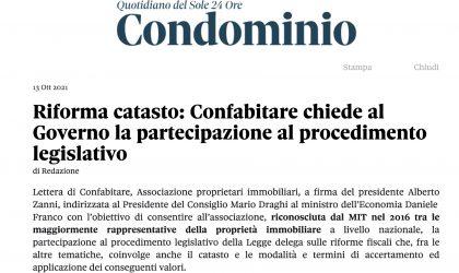 Confabitare chiede al Governo la partecipazione al procedimento legislativo
