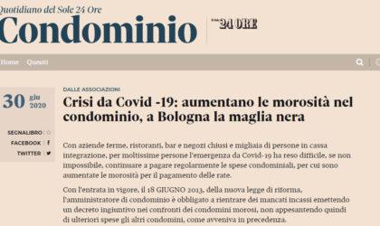 Crisi da Covid -19: aumentano le morosità nel condominio, a Bologna la maglia nera