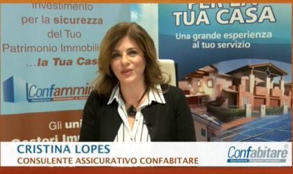 Cristina Lopes, consulenze assicurative