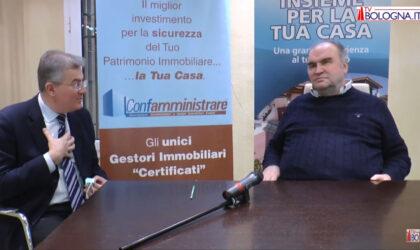 Alberto Zanni, presidente nazionale di Confabitare, in un'intervista rilasciata a TV Bologna  interviene su Super Bonus 110% e blocco degli sfratti